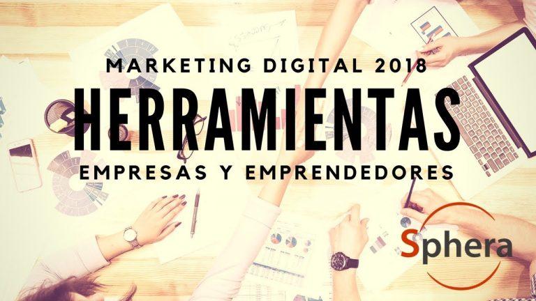 Herramientas de Marketing Digital Chile 2018
